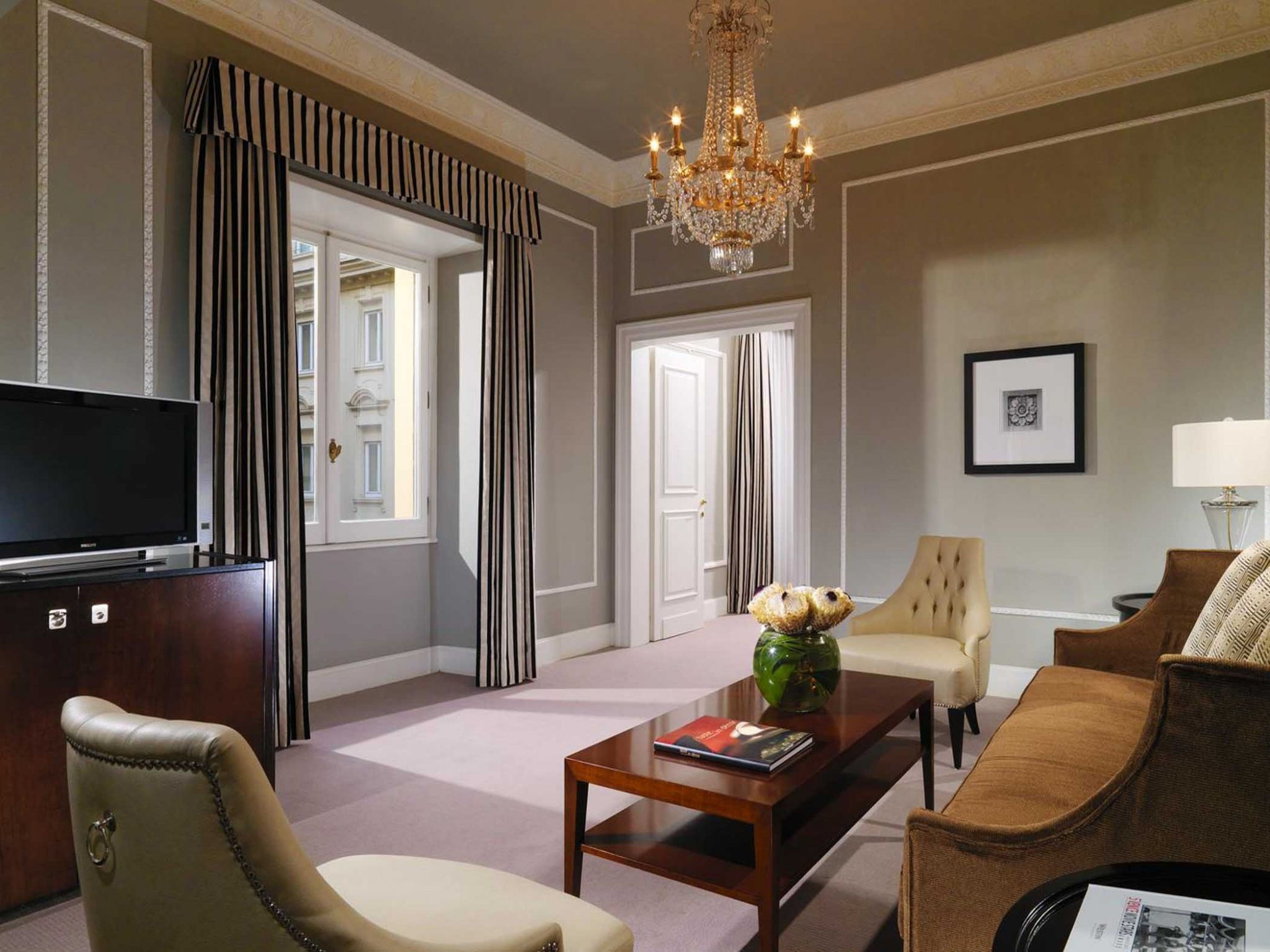Grandluxe suite at The Westin Excelsior Rome